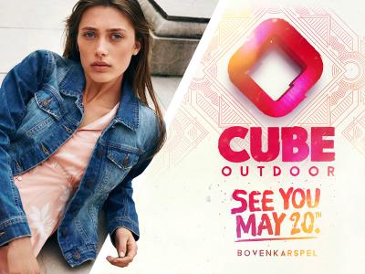outdoor festival cube 20 mei kaartverkoop bij dirk de wit mode in bovenkarspel koop gelijk jouw perfecte party outfit