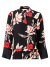 Kimonoblouse met bloemenprint