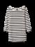3/4 sleeve tee stripe essentials