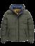 Hooded jacket snowburst