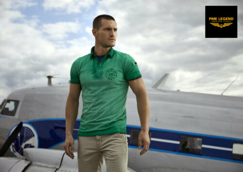 Man in groene PME Legend polo