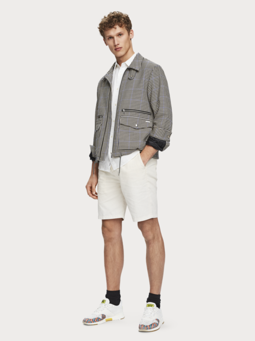Scotch en Soda linnen witte shorts