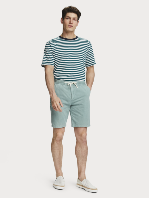 Scotch en Soda linnen groene shorts