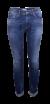 Denim bleached jeans