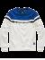Sweatshirt met kleurvlakken