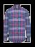 Essential geruit overhemd