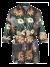 Lange blouse met bindbandje