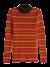 Ribgebreide trui